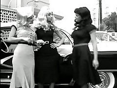 Devi in lesbians video in the style of the 50s