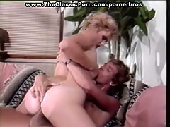 Vintage blonde sucks, fucks, and anals hard