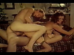 No Sound: Vintage Threesome and Double Penetration