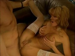 Anita blond with long hair fucking