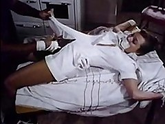 Nurse restrained by a horny patient