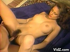 Vintage lesbian action then a cock fucking