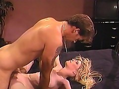 Young couple in hot fucking session in motel