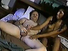 Indian Cassie gets filthy with fat white dude