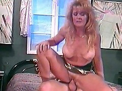 Mature blonde hooker rammed in the ass