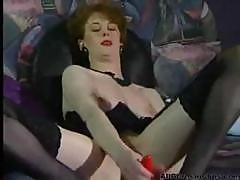 German Brunette Anita Feller Toys And Fists Her Wet Pussy