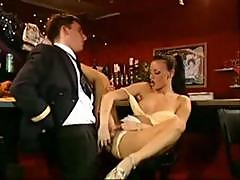 Jeannie Gets Horny At Work And Gets Drilled And Sucks Him Off