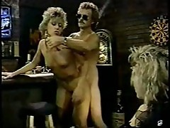 A Crowd Of Vintage Porn Stars Going Down And Dirty On Camera