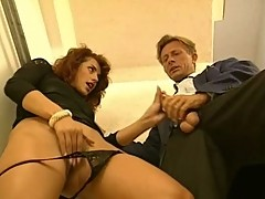 Simona Valli Playing with Cock