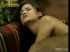 Ron Gets This Brunette To Suck His Cock And Then Bangs Her Hard