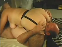 Chubby Babe Gets Fucked In Bed