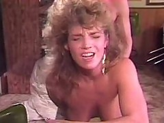 Retro anal sex with stockings girl
