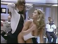 Hot Blonde In The Office Gets Fucked By A Strapon From Another Babe