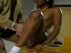 John Holmes bones a sweet black pussy John Holmes the other white meat