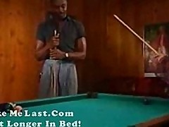 Jackylyna classic black fuck amateur babe on pool table