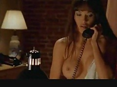 Lisa Boyle retro sex scene