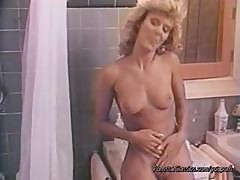 Ginger Lynn Is One Of The Legends Of Porn And Here She Gets Naughty In The Shower