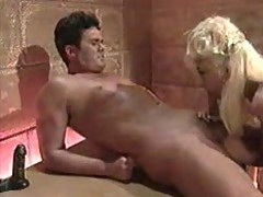 BLONDE MATURE FUCKED HARD IN BATHROOM
