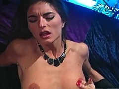 Skinny French Woman Fucks Janine