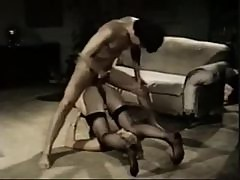 Blonde vintage slut fucked and takes facial