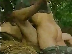 Asian Soldiers Gangbang Creampie