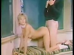 Retro girl Fucked by Gym Coach