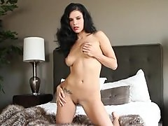 Mercedes Raquel the Classic Sweetie posing in the bedroom