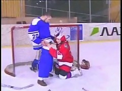 Russian-pauline polyanskaya ice hockey part 3